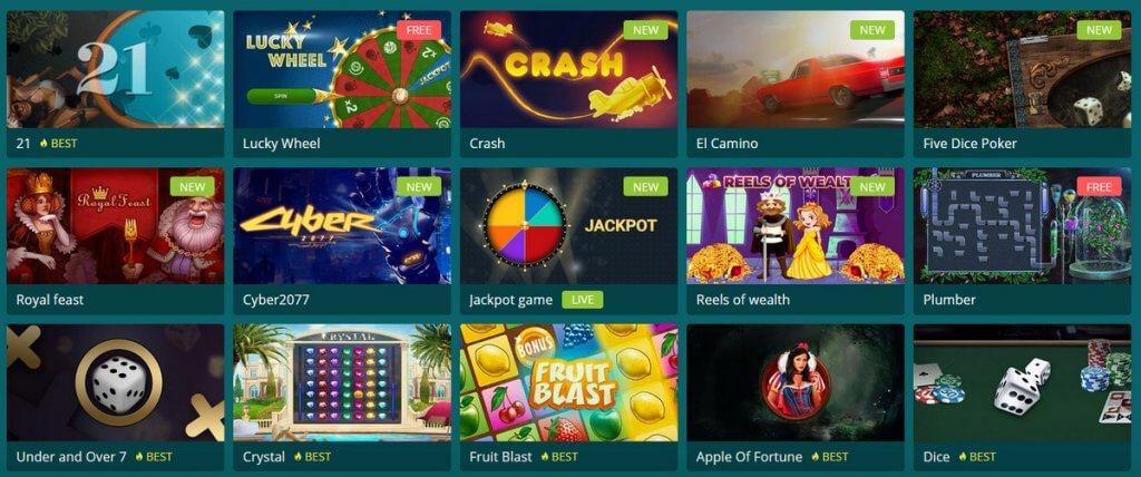 22bet казино игри